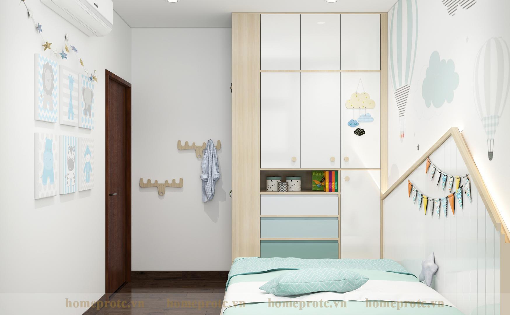 Thiết Kế Căn Hộ Premier 2 Phòng Ngủ A 10