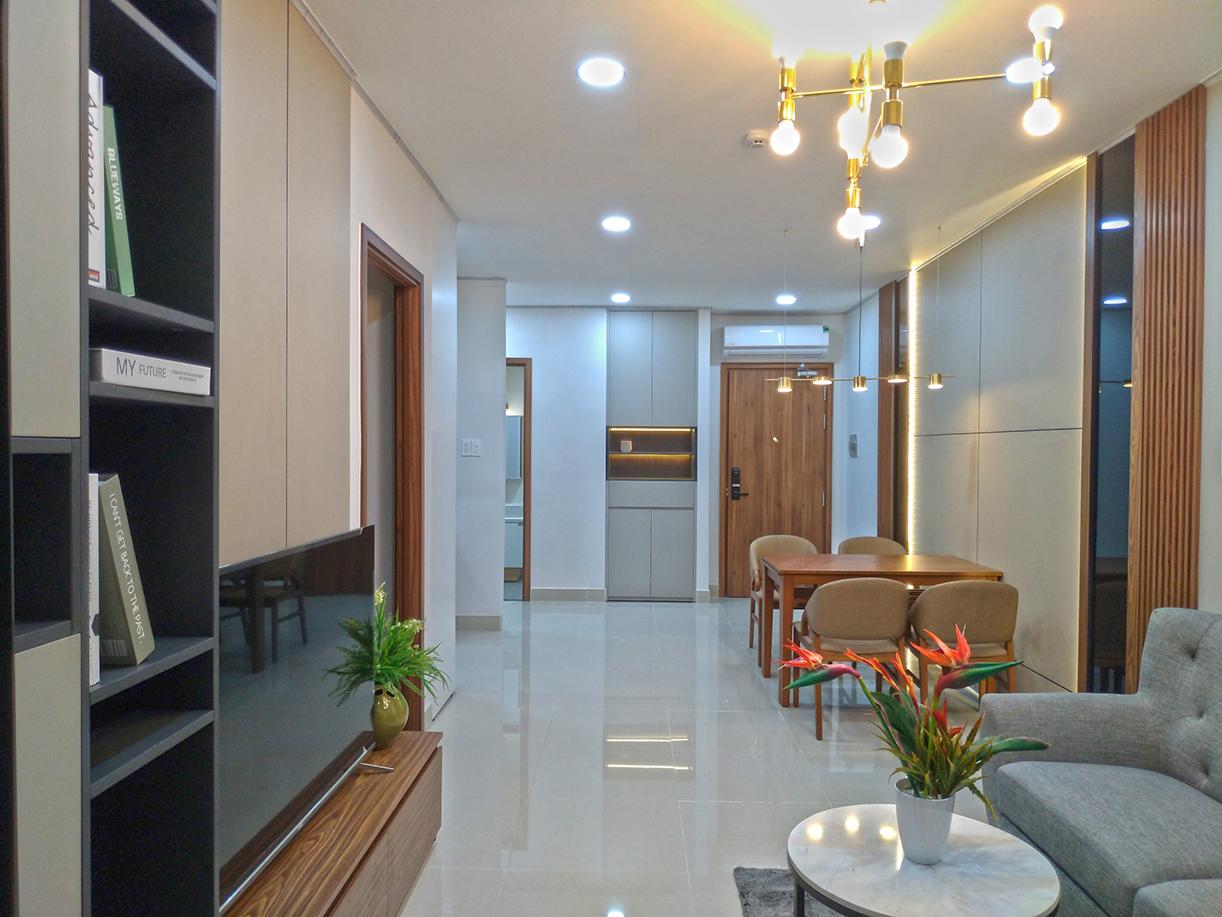 Thiết Kế Thi Công Nội Thất Nhà Mẫu 80M2 - Dự Án Legend Complex
