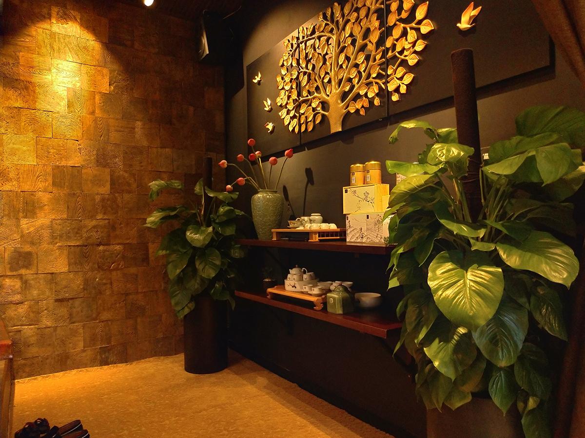Thi Công Nội Thất Teashop Doidep Vinhomes Central Park - Sandals Group (Hình Thực Tế)